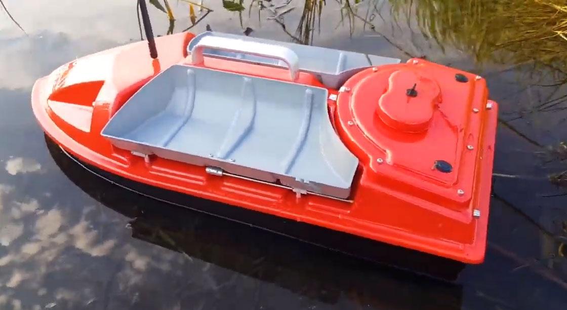 Прикормочный кораблик Дельфин 4 фото