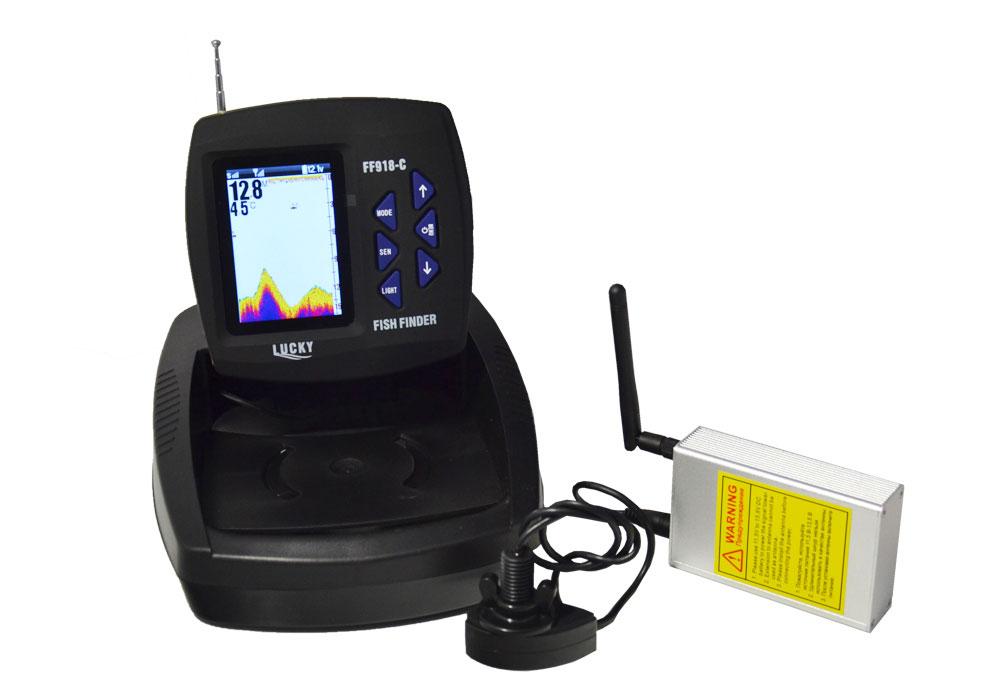 эхолот FF918 для Дельфин-5 с GPS