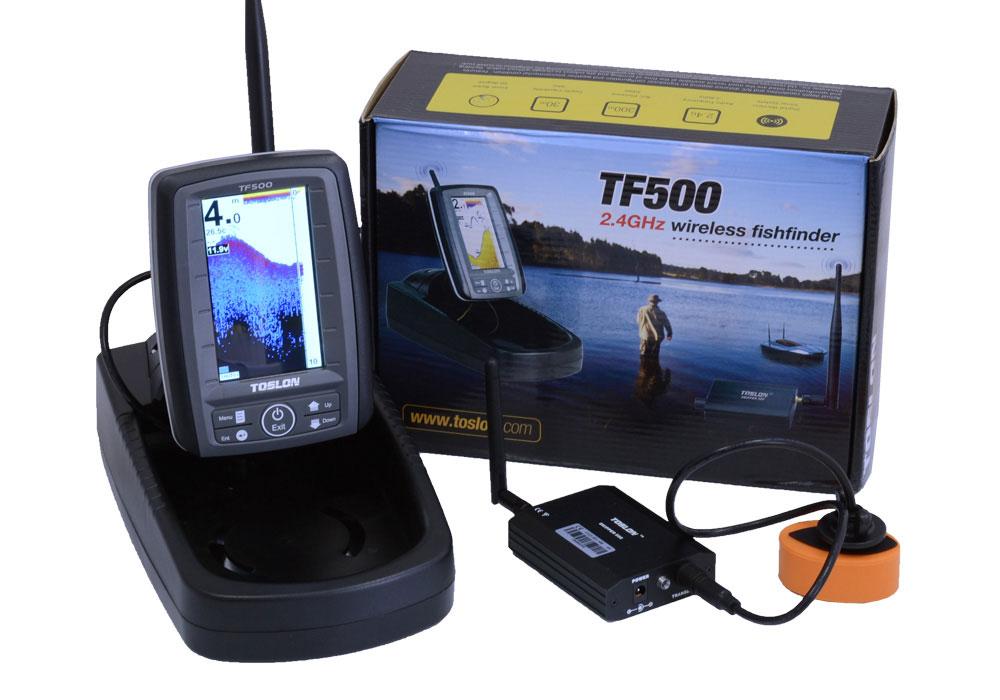 Эхолот Toslon 500 для кораблика Фортуна 15000 автопилот