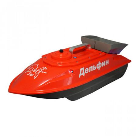 Прикормочный кораблик для рыбалки Дельфин-3М