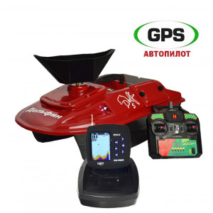 Кораблик для рыбалки Дельфин-5 FF918 + GPS