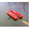 Карповый кораблик с вертушкой Дельфин-5 с эхолотом Lucky FF918 и GPS