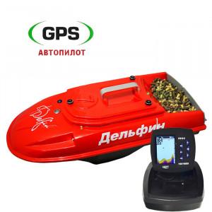 Кораблик для прикормки Дельфин-7 FF918 GPS