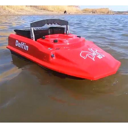 Прикормочный кораблик для рыбалки Дельфин-10 - новинка для карповой ловли 2021 года