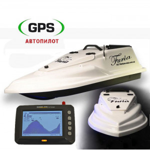 Кораблик Фурия Шторм GPS (8+1) Toslon TF300