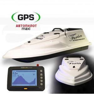 Кораблик Фурия Шторм GPS (Maxi) + Toslon TF300