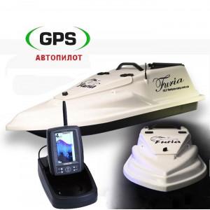 Кораблик Фурия Шторм Toslon TF500 + GPS (Maxi)