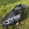 Прикормочный кораблик Фортуна 15000 мАч с эхолотом Lucky 918  и GPS автопилотом ( maxi) на 9+1 точек и 100 водоемов