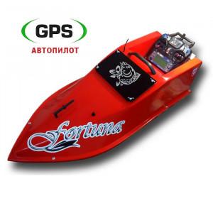 Прикормочный кораблик Фортуна 27000 GPS автопилот Maxi