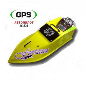 Карповый кораблик Фортуна 15000 с GPS автопилотом (Maxi)