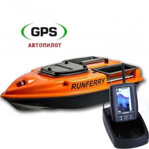 Кораблик для прикормки Camarad V3 GPS + Toslon TF500
