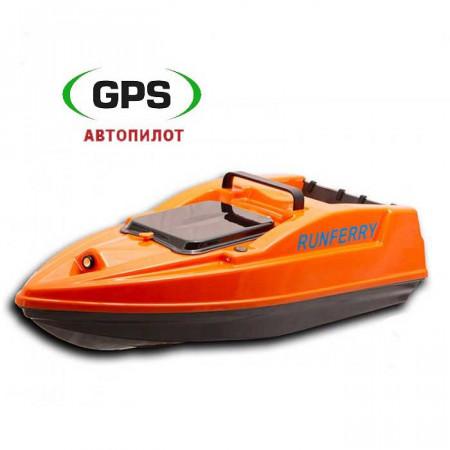 Кораблик для прикормки Runferry Solo V2 c GPS автопилотом для карповой рыбалки