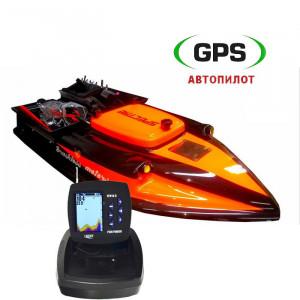 Прикормочный кораблик Spectre PRO FF918 + GPS
