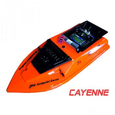 Однобункерный прикормочный кораблик Spectre RT (Спектр РТ) для карповой рыбалки